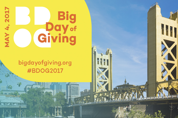 Big Day of Giving, May 4, 2017